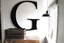 Around the House / Home decor inspiration