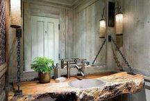Bathroom Inspiration / by Amber Rose Gardner