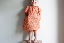 making clothes for little ones / Sometimes I link to patterns and tutorials. Other times I link to clothes that provide inspiration for new designs to try out. / by Rachel Pearson