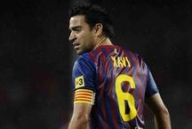 Xavi Hernandez!!! Mi capitán favorito!!! ^^