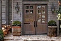 Doors / Front, back, inside, pocket, French, Dutch, barn, garage... all kinds of doors! / by Amber Rose Gardner