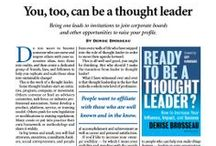 In the Media: Denise Brosseau & Thought Leadership Lab / Denise Brosseau and Thought Leadership Lab in the Media Online