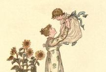 Children's Book Illustrations / Our Kate Greenaway Collection is a range of charming stationery books, decorated with cameos of the finest of Kate Greenaway's work. Hers is a vision of innocent enjoyment and beauty, which our selection of children's book illustrations reflects.