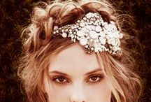 Hair accesories / Inspirational hair details for brides and more