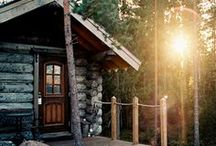 A different way to live / Outdoors. Rustic living. Sounds good to me!! / by Julia Buendgen