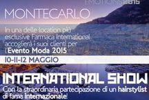Montecarlo 2015 / L'evento moda 2015 in una location straordinaria, Montecarlo 2015 ospiterà hairstylist di fama internazionali e come sempre grandi sorprese con ospiti d'eccezione che all'ieteranno la serata di gala. / by Farmaca International