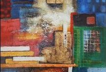 Abstract Paintings / Abstract paintings made in different styles and with different techniques.