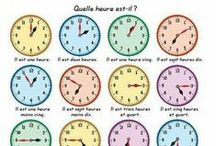 """French 8 Aller, Time, Location, Futur Proche, Classes / Futur Proche, Telling Time, infinitives, the verb """"aller"""", lcations/directions, places in the city"""