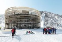Nordic Centre Planica / As a part of the major facilities extension in Tamar Valley, the Planica Nordic Center will include several administrative and event hosting complexes.