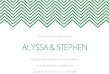 Modern Wedding Inspiration / Planning a modern wedding? Get inspired with printable invites, decorations, DIY ideas & more!