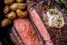 Rezeptideen / Château Boeuf, Jungbullenfleisch, Rezept, Steak, Grillen, Fleisch, Gericht, Hunger