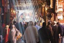 集市摊位 / 中世纪  中东