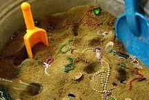 Preschool: Sensory Bins & Activities