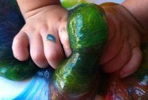 Preschool: Sensory Recipes (playdough, goop...)