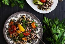 Healthy Salads / salad | simple food | recipes | vegetarian | vegan | plant-based | plant based | plant based | whole food | cooking tips | family friendly | healthy food