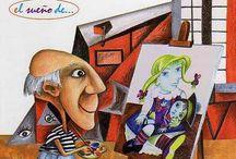School: Proyecto Arte 2013/14 / Bibliotecas Escolares de Albacete en red  http://bibliotecaildefonsonavarro.blogspot.com.es/