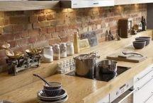 Cozinha / Simples e organizado.