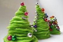@vánoční tvoření s dětmi