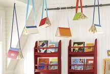 Library bolletin board ideas / Ideas para ambientar la biblioteca. Dentro y fuera.