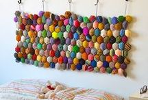 Knitting: Home / Knitting patterns (mostly free) for the home - blankets, decor etc.  / by Lovely Wren