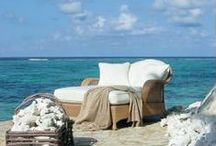 Outdoor Living / Celebrating life on the coast...outdoor furniture, landscaping ideas, and more.