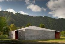 HOMOGÉN - épületek / Homogén épületek, egyanyagú házak.