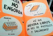 Humor Literario| LectoAperitivos en la Biblioteca. / Pequeños textos de humor relacionados con los libros, lectura, bibliotecas...