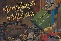 LIJ-Biblioteca / Libros que tratan sobre el tema de la biblioteca.