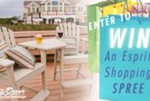 Monthly Contests / Esprit Decor gives you a chance to win $250 to our store every other month!