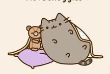 Pusheen cat (=^・ω・^=)