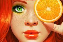 Awesome Digital Illustrations / Beautiful Digital Illustrations.