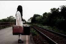 poze in gara / poze in statia de tren
