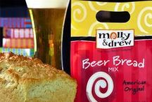Bread, Beer Bread Recipes (molly&drew) / Easy beer bread recipes perfect for any and all occasions using your favorite molly&drew products!