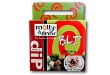 Dip Recipes / The perfect dip mixes and recipes for any and all occasions made from your favorite molly&drew products!