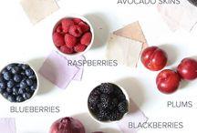 Natural Colour / Fabric dye | DIY | craft | art | fruit | veggies | natural