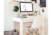 Blogging Nook / design | decorating ideas | blogging nook | home office