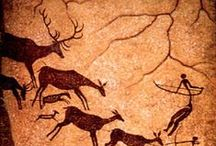 PreHinterest / cave paintings, rock arts, prehistoric symbolism, ...