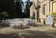 Matrimonio White & Grey / Allestimento matrimonio tema Grecia Classica in Grigio e Bianco