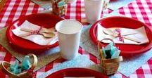 Picnic Birthday Party Ideas / birthday party | picnic party | girl's birthday party | party ideas | party decor | picnic decor