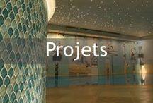 Projets Ora Mosaïques / Une mosaïque : une histoire. Des attachantes, des entêtantes, des qu'on aurait voulu garder pour soi. Dernières traces de réalisations qui sont parties enrichir d'autres lieux.