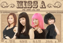 Korean Pop - miss A / Miss A is a four member Chinese-Korean girl group based in South Korea. They were formed by JYP Entertainment and are managed by AQ Entertainment. The group consists of Fei, Jia, Min and Suzy.  Fei and Jia are considered two of the four best recognized female celebrities of Chinese origin active in the South Korean entertainment scene, along with f(x)'s Victoria Song and fashion model Wei Sun.