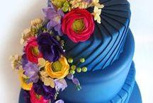 Gâteaux en Pâte à sucre / fondant cake