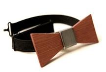 Stropdas van hout / Houten stropdas