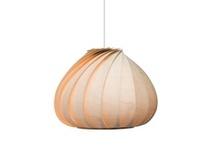 Lamp van hout / Houten lamp