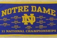 Notre Dame Football / by Jason Schack