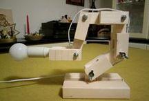 cose di legno / molti oggetti creati con le mie mani --- many objects created with my own hands