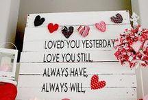 Be My Valentine <3 / Valentine DIY ideas  Idee fai da te per San Valentino