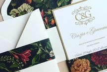 letterpress wedding invitations / We create invitation cards that you will want to hang on your living room wall, as well as business cards that you will feel sorry to give away.