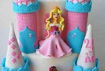Princesse inspiration / Inspiration pour un anniversaire de princesse. Reine des neiges, blanche neige, cendrillon, la belle au bois dormant, princesse Sofia... Également pour barbie...