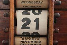 calendar / by Roula Sukkar